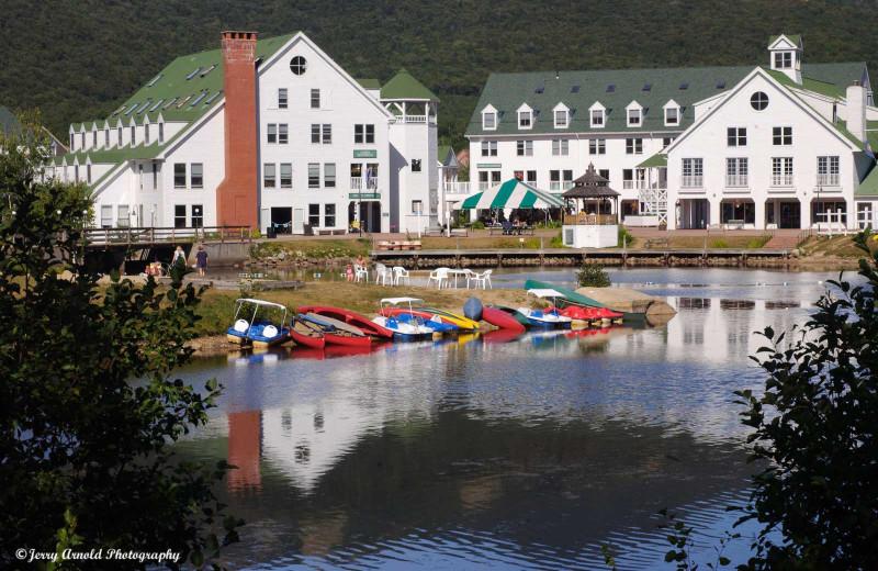 Lake near Snowy Owl Inn and Resort.