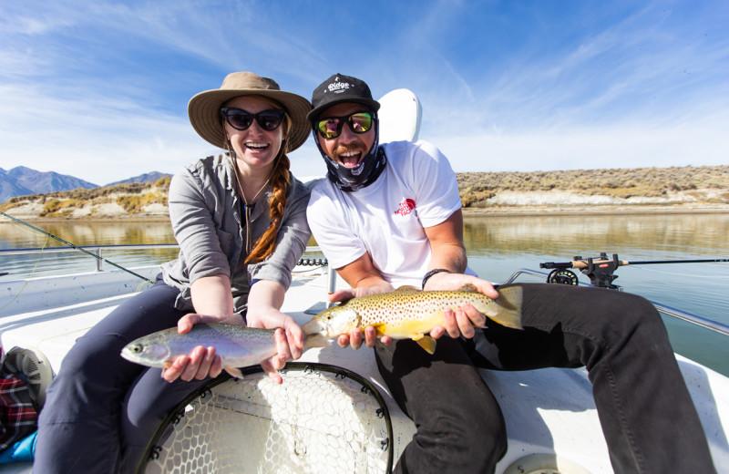 Fishing at Nomadness Rentals.
