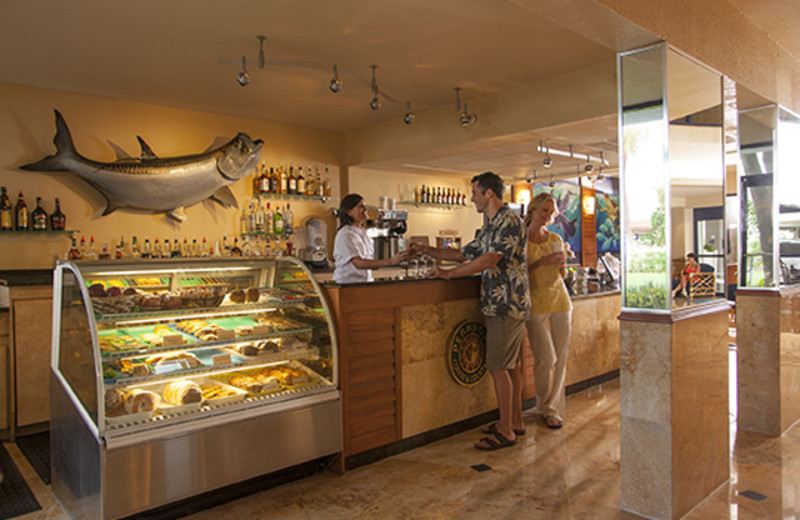 Interior view at Guy Harvey Outpost.
