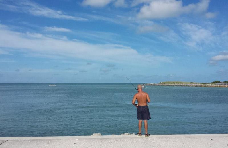 Fishing near Gulf Winds Resort Condominiums.