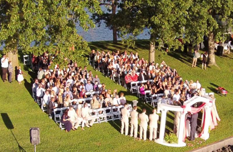 Wedding at Mallard Point Resort.