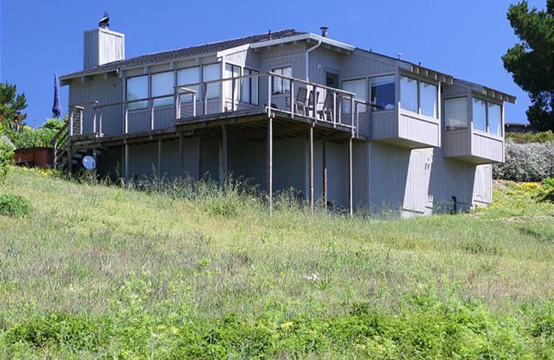 Rental exterior at Irish Beach Rental Agency.