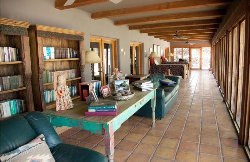 Interior view of Cibolo Creek Ranch.