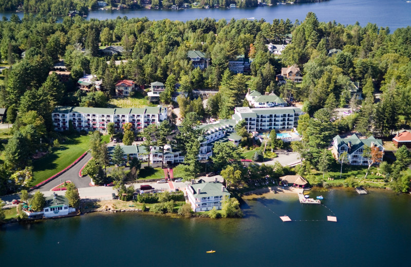 Aerial view of Mirror Lake Resort & Spa