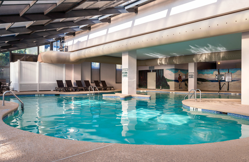 Indoor pool at The Breakers Resort.