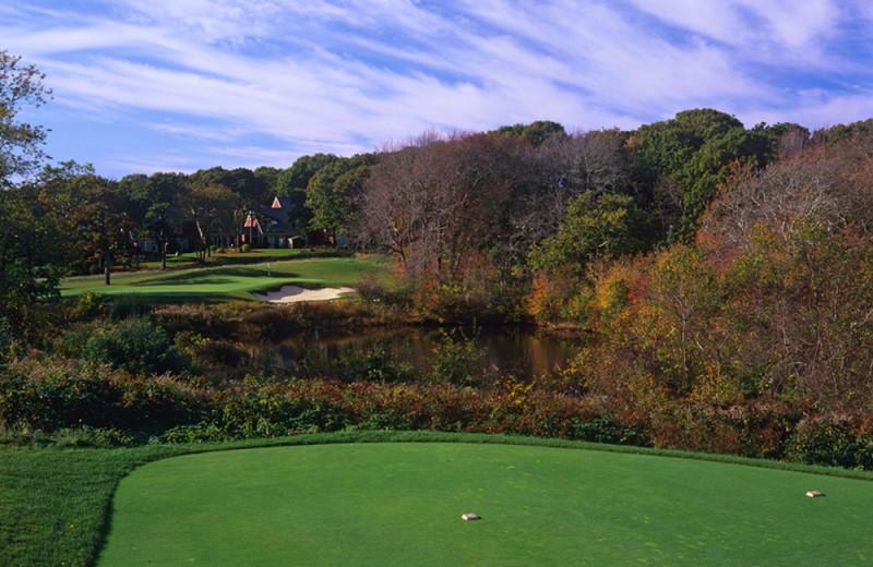 Golf course at Ocean Edge Resort & Golf Club.