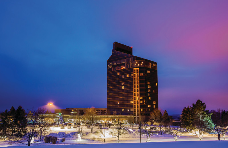 Exterior view of Grand Traverse Resort and Spa.
