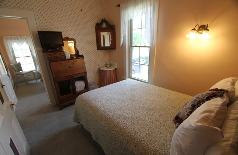 Guest room at Last Resort Bed & Breakfast Inn.