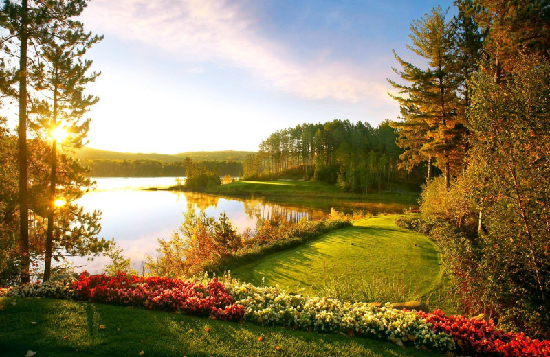 Golf course at The Lodge at Giants Ridge.