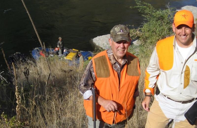Hunting at China Bar Lodge.