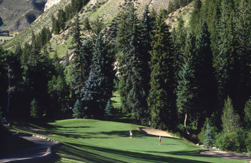 Golfing near The Pines Lodge, A Rock Resort.
