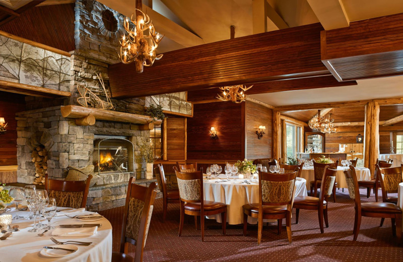 Dining at Mirror Lake Inn Resort & Spa.