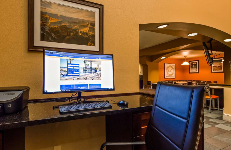 Business center at Best Western Plus King's Inn & Suites.