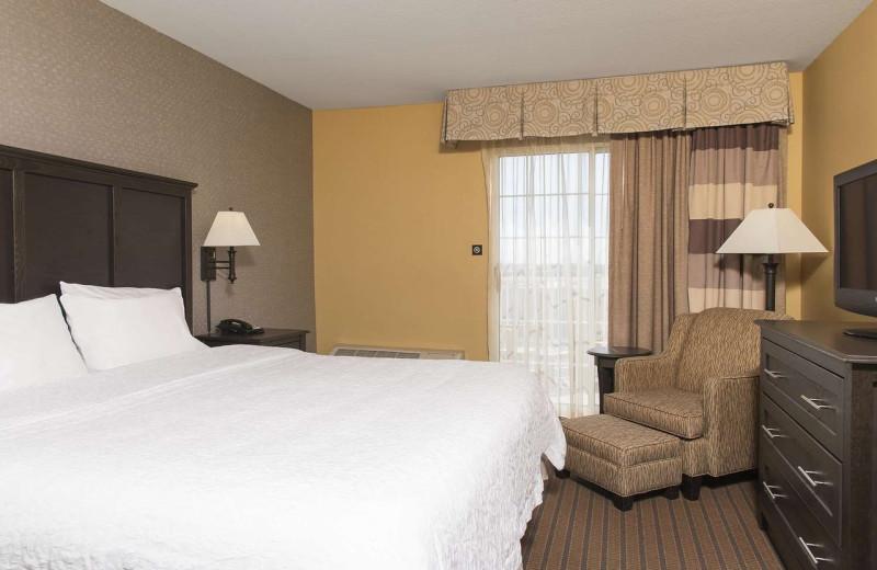 Guest room at Hampton Inn Holland.