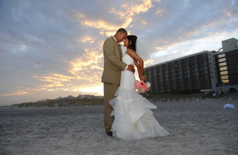 Wedding at Shell Island Resort.