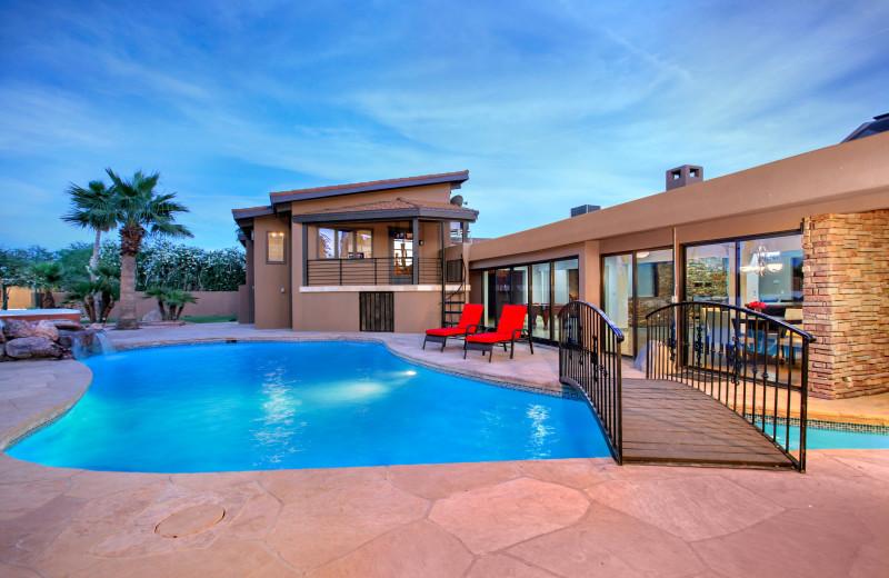 Rental pool at Arizona Vacation Rentals.