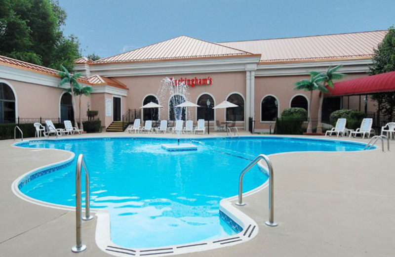 Outdoor pool at Clarion Hotel at The Palace.