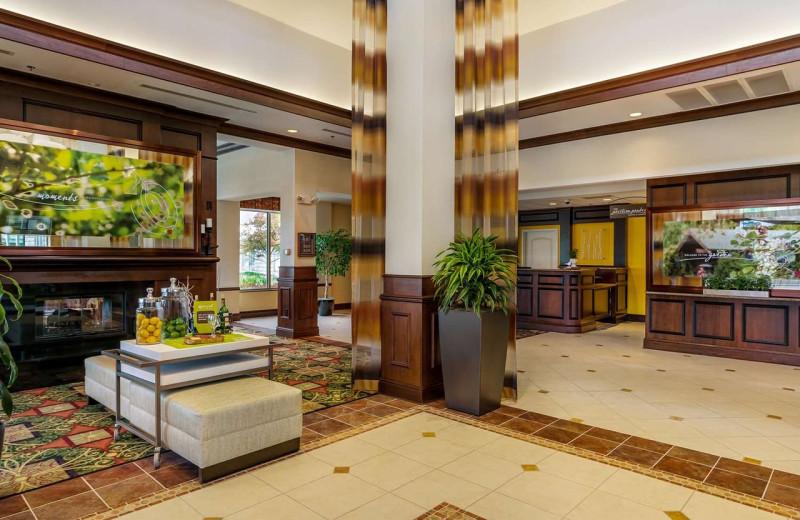 Lobby at Hilton Garden Inn Cleveland East/Mayfield Village.