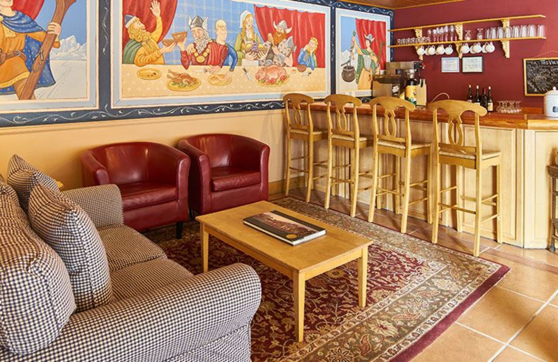 Lounge at The Alpine House Lodge & Cottages