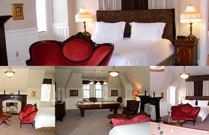 President Grant room at Batcheller Mansion Inn Bed and Breakfast.