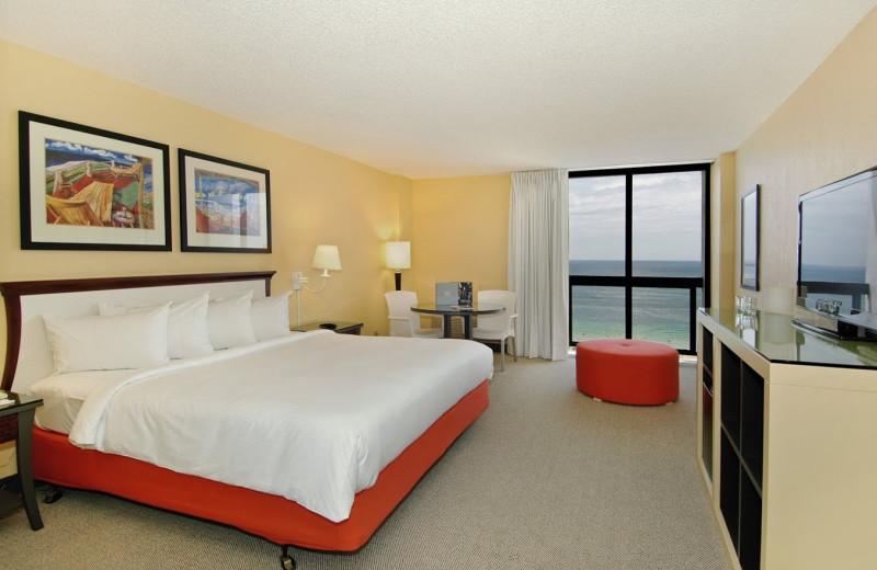 Guest room at Bahia Mar Beach Resort & Yachting Center.