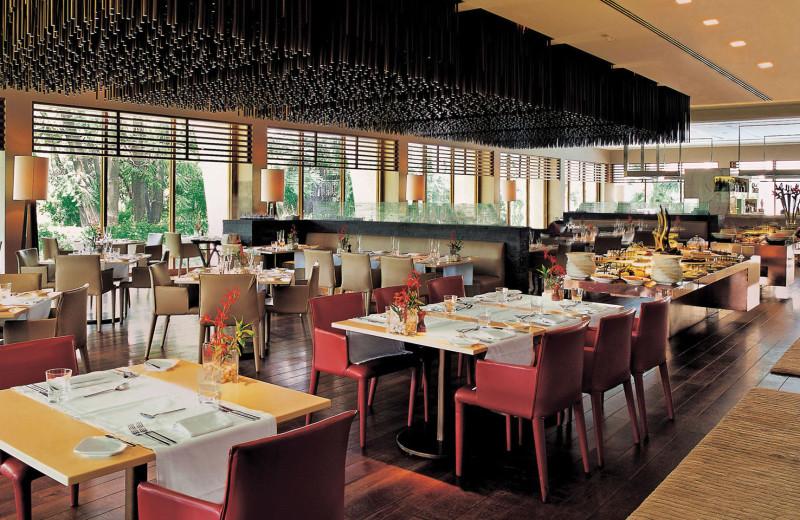 Dining at The Oberoi New Delhi.