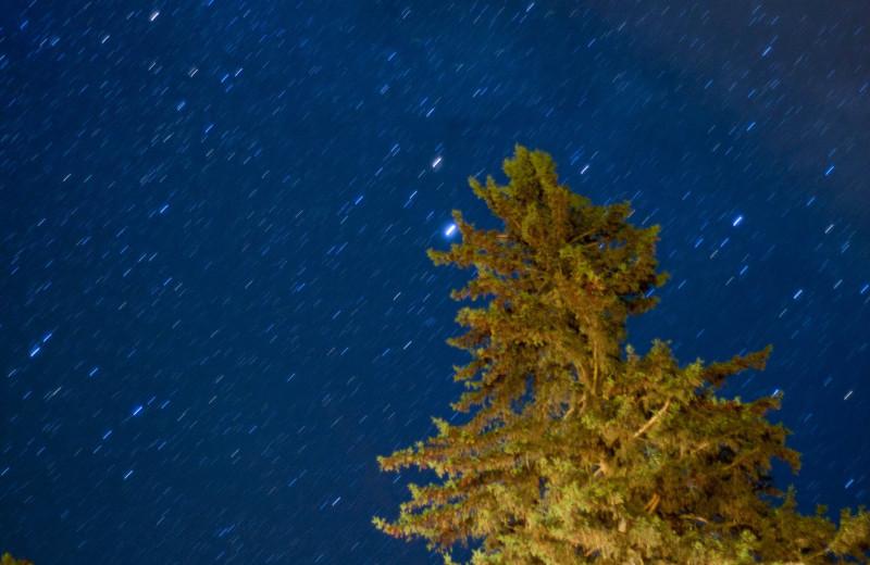 The stars at Lumina Resort.
