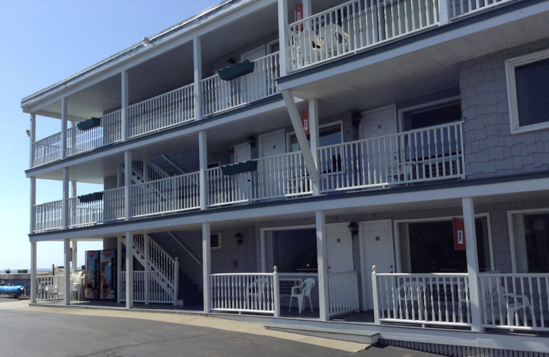 Exterior view of Sea View Inn.