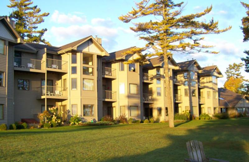 Welcome to Glidden Lodge Beach Resort.