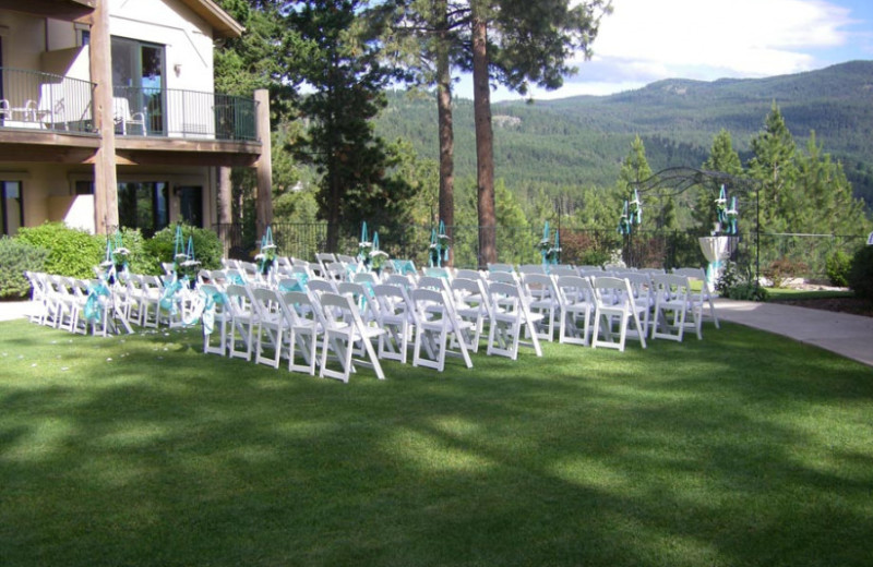 Weddings at Bigfork Mountain Lake Lodge.