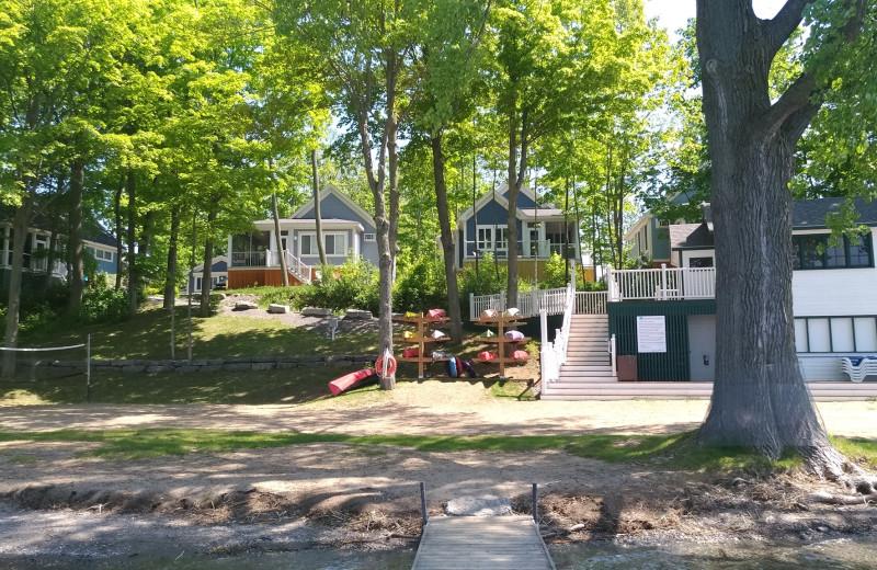 Cottages at Sandbanks Summer Village Cottage Resort.