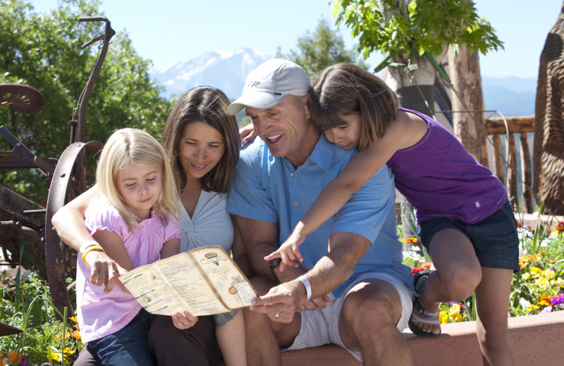 Family at at Glenwood Caverns Adventure Park.