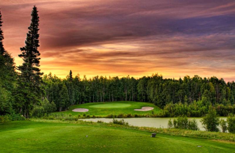 Golf course at Elk Ridge Resort.