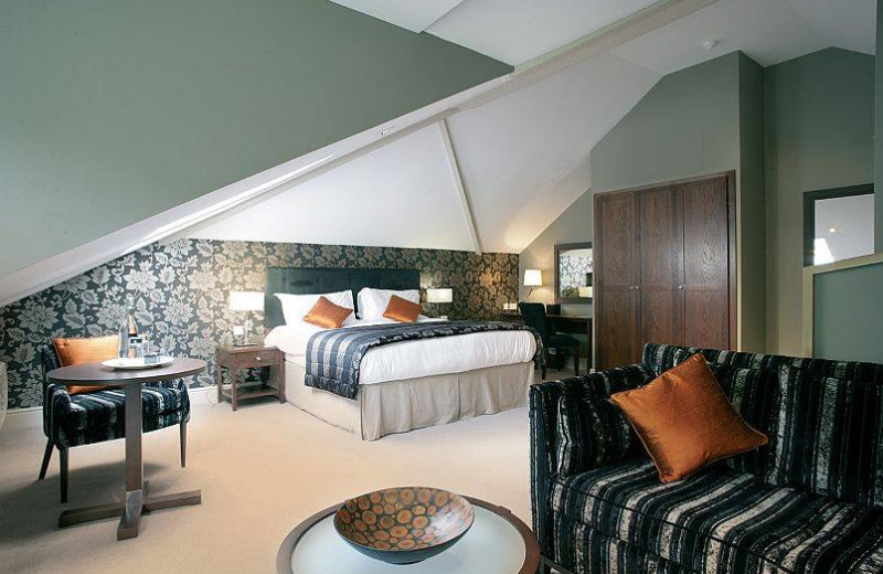 Guest room at Rothay Garden Hotel.