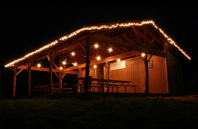 Pavilion at Neal's Lodges.