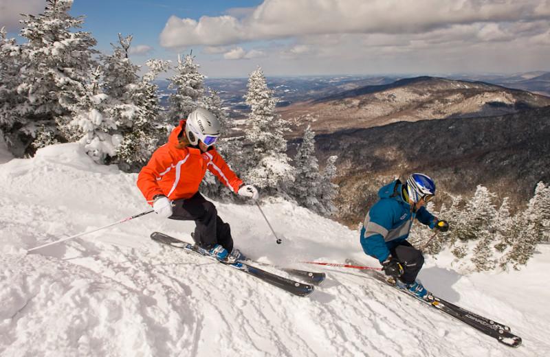 Skiing at Smugglers' Notch Resort