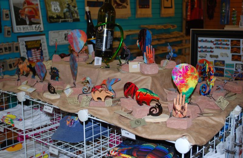 Gift shop at American RV Park.