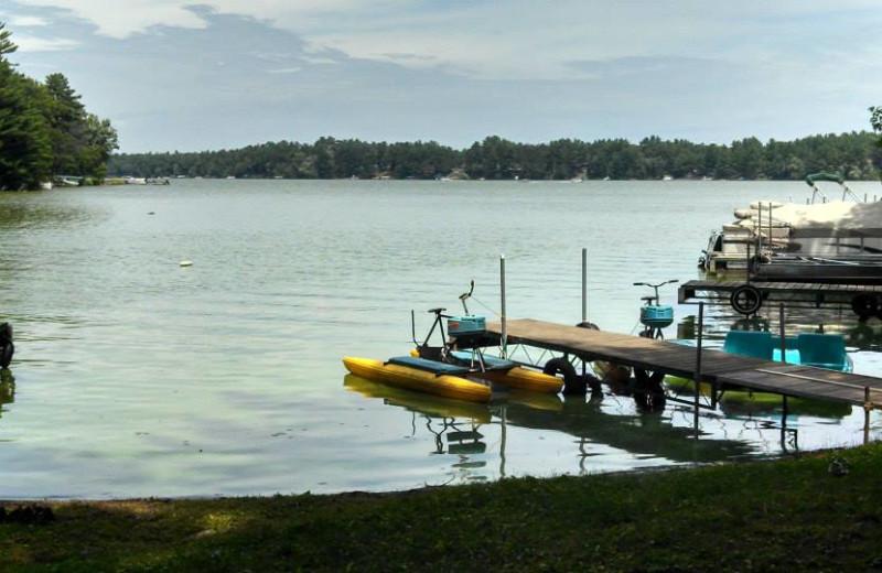 Lake view at Echo Bay Resort.