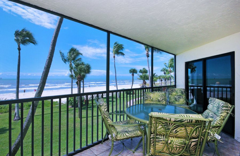 Rental balcony at VIP Vacation Rentals LLC.