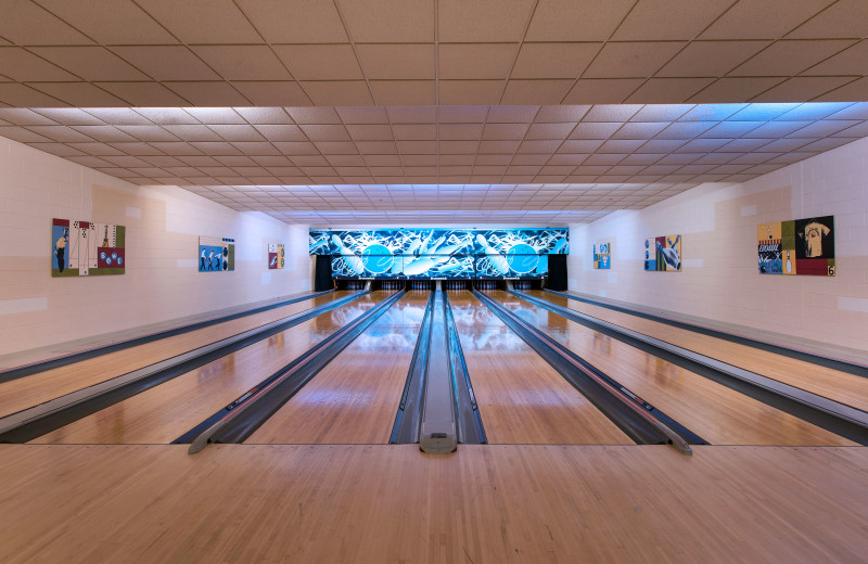Bowling alley at Eaglewood Resort