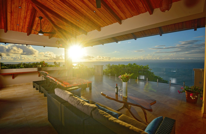 Rental balcony at Costa Rica Luxury Lifestyle.
