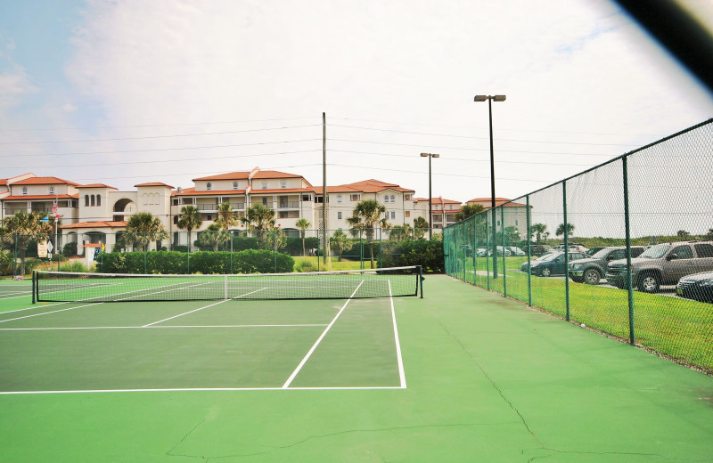 Rental tennis court at Access Realty Group.