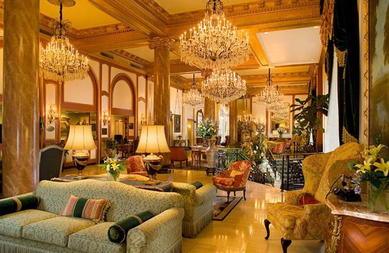Lobby at Le Pavillon Hotel