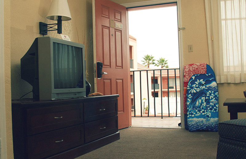 Room entry at WindWater Hotel & Resort.