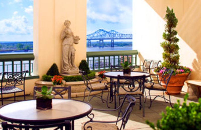 Balcony View at Westin New Orleans Canal Place