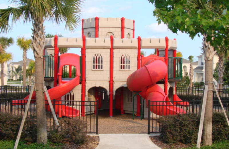 Kid's playground at Florida Dream Management Company.