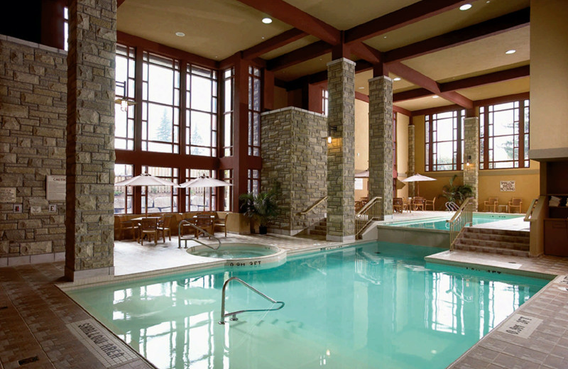 Indoor pool at DoubleTree Fallsview Resort & Spa by Hilton - Niagara Falls.