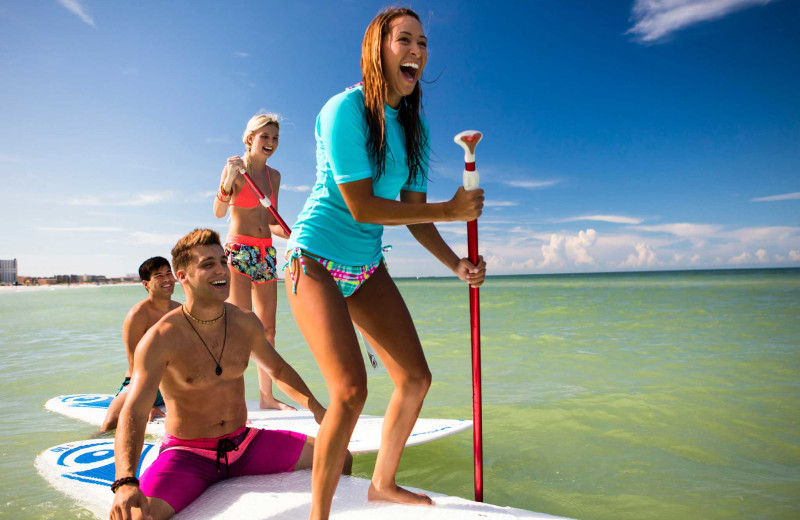 Glide along the Gulf on a stand-up paddleboard
