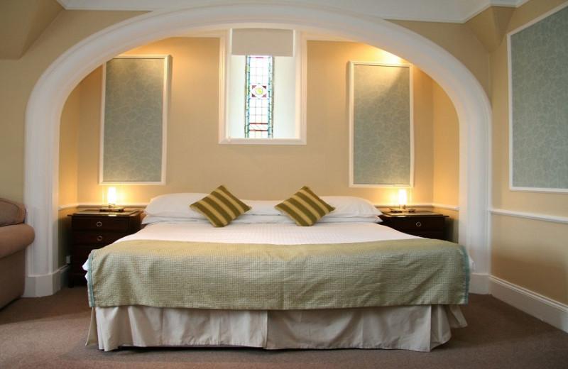 Guest room at Craigmonie Hotel.