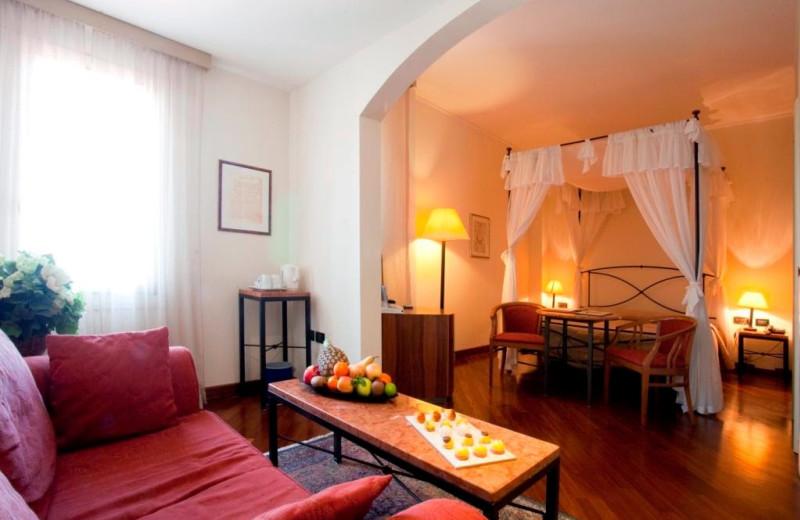 Guest room at Hotel Monte del Re.